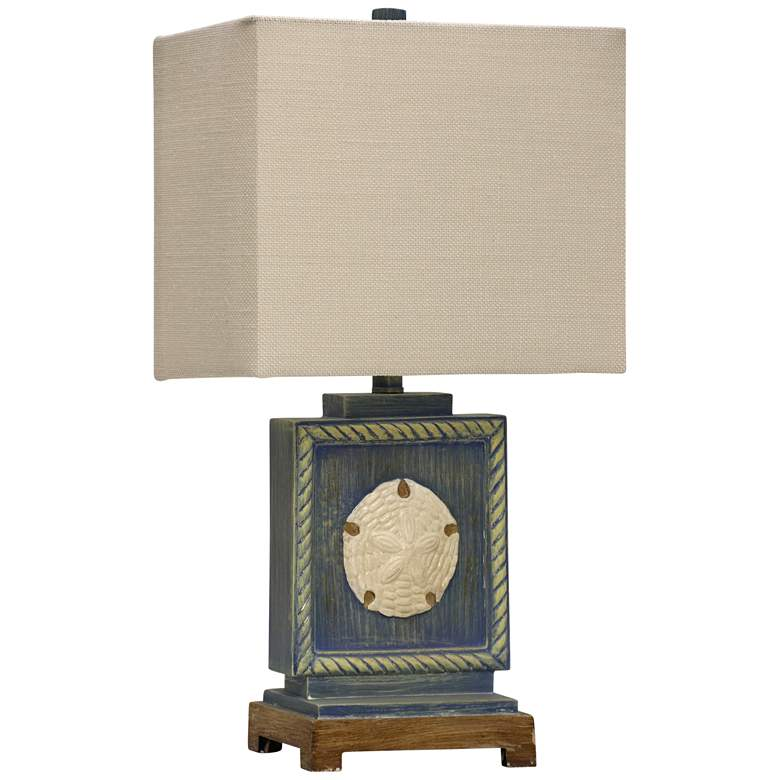 Buster Blue Accent Table Lamp