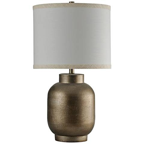 Huron Textured Gold Table Lamp