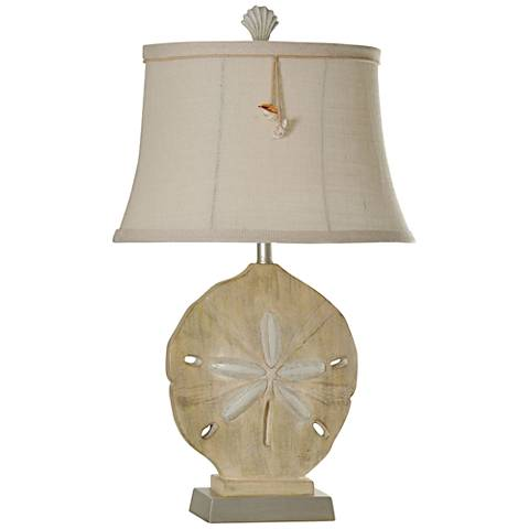 Winchester Sand Dollar Vipiteno Cream Table Lamp