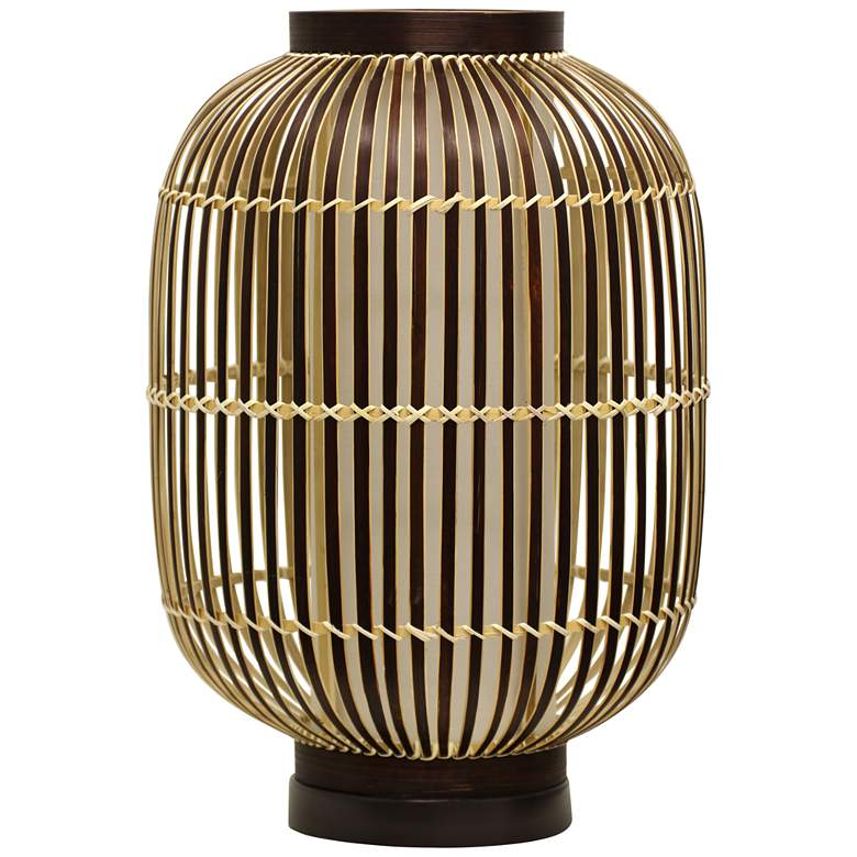 Believue Natural Bamboo Uplight Accent Table Lamp