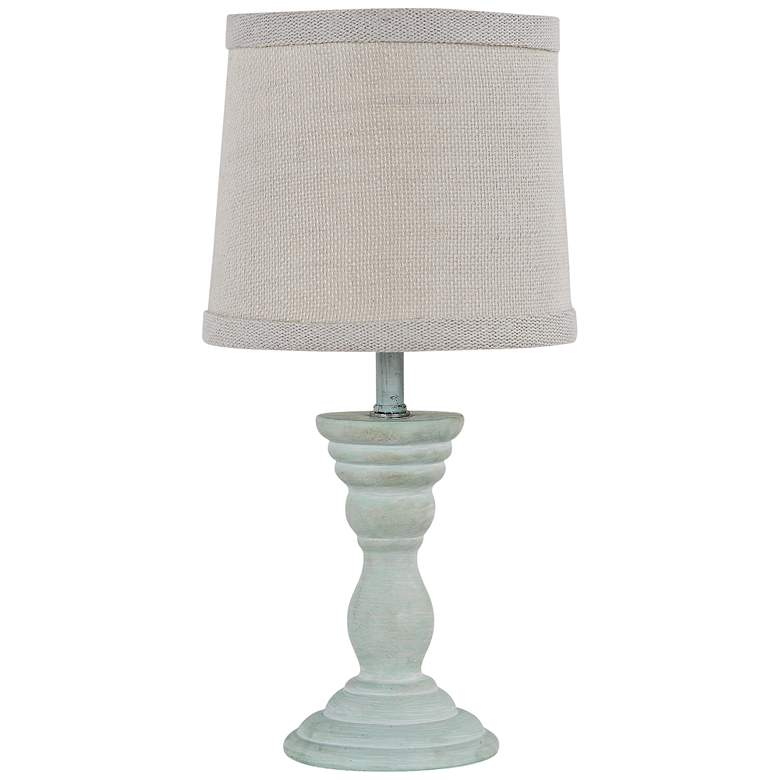 Randolph Spa Blue Accent Table Lamp