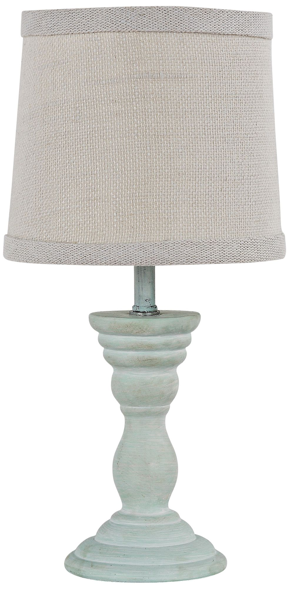 Randolph Spa Blue Accent Table Lamp