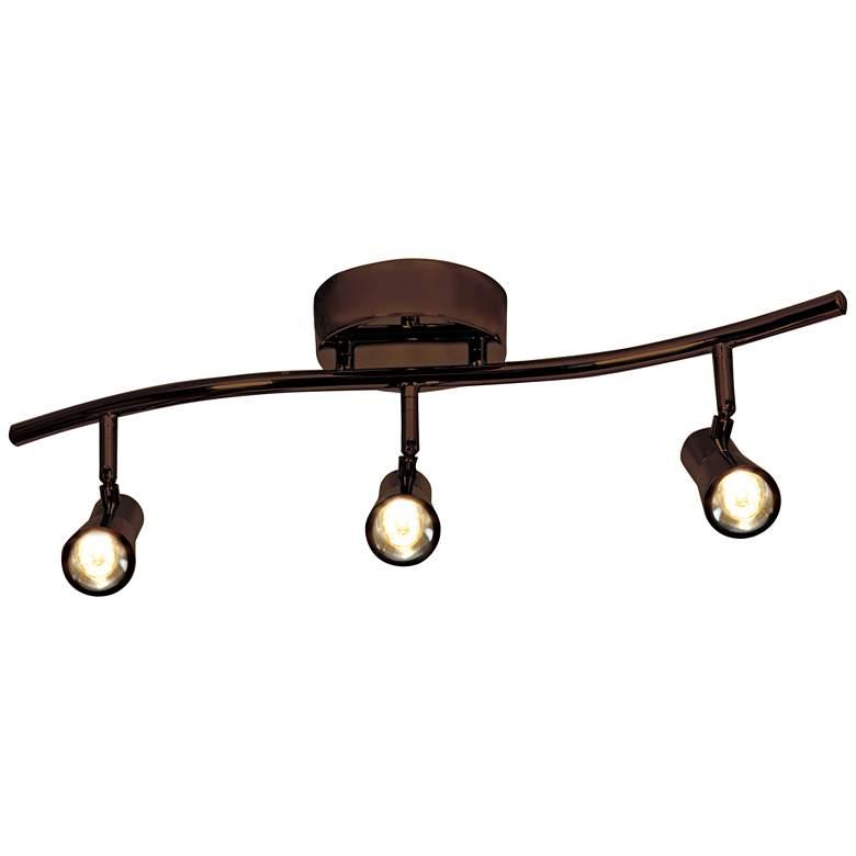 Access Lighting Sleek 3-Light Bronze LED Track Fixture