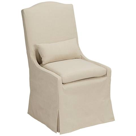 Juliete Peyton Sahara Slipcover Dining Chair