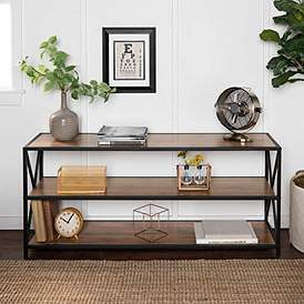 Free Standing Bookshelves for Living Room and More | Lamps Plus