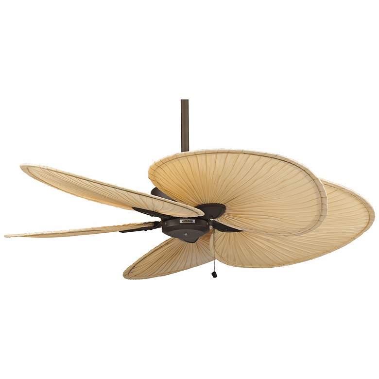 "52"" Fanimation Windpointe Bronze and Palm Ceiling Fan"