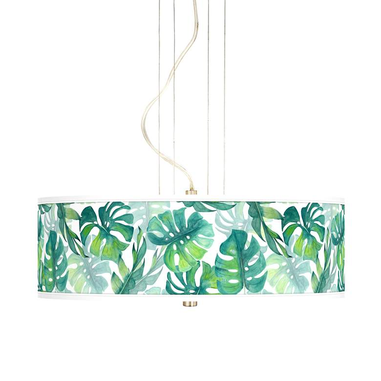 "Tropica 20"" Wide 3-Light Pendant Chandelier"