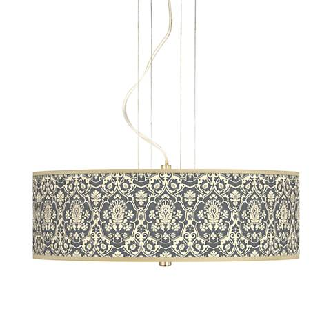 "Seedling by thomaspaul Damask 20"" 3-Light Pendant Chandelier"