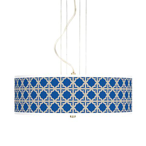 "Four Corners 20"" Wide 3-Light Pendant Chandelier"