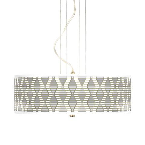 """Stepping Out 20"""" Wide 3-Light Pendant Chandelier"""