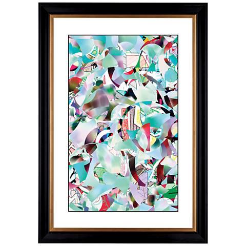 """Giclee January 41 3/8"""" High Wall Art"""