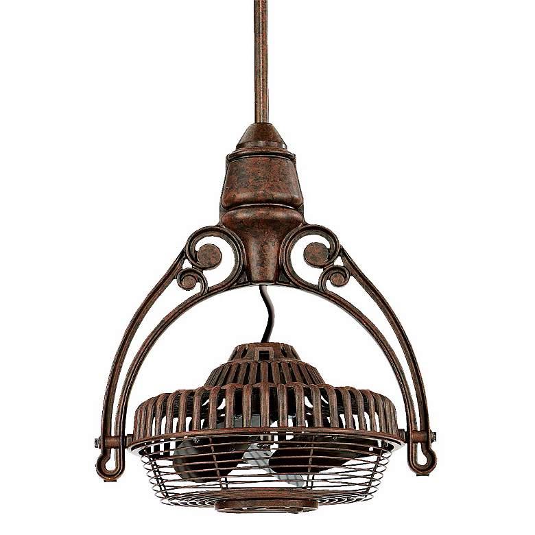 Fanimation Old Havana Rust Tilt-Adjust Cage Ceiling Fan