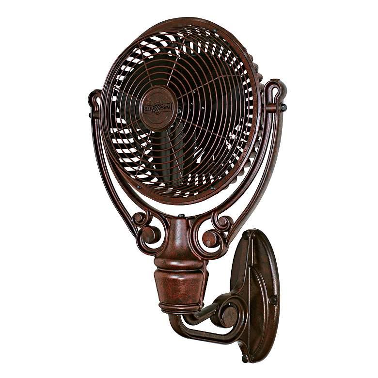 Fanimation Old Havana Rust Finish Plug-In Wall Fan