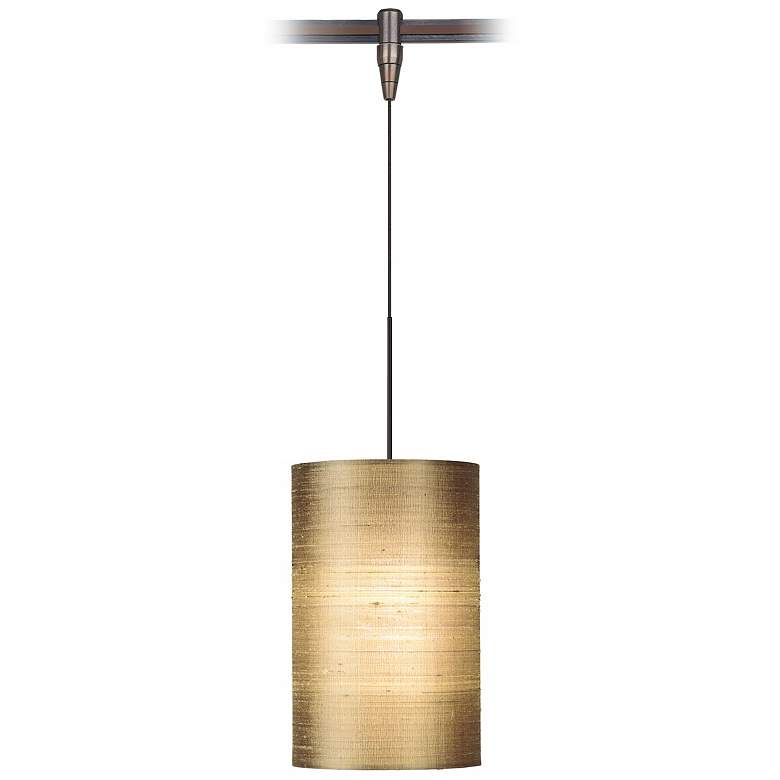 Fab Almond Silk Shade Bronze Tech Lighting MonoRail