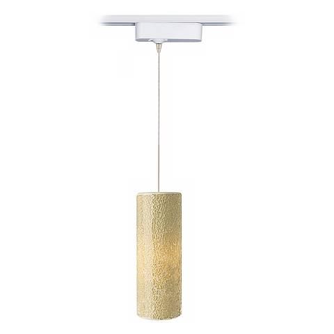 LED Veil Latte Glass Tech Pendant for Lightolier Track Systems