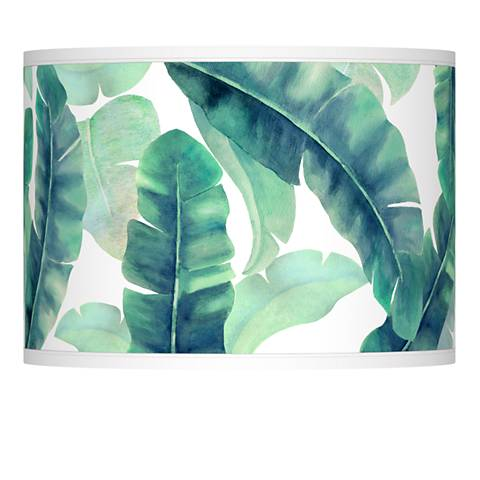 Guinea Giclee Lamp Shade 13.5x13.5x10 (Spider)