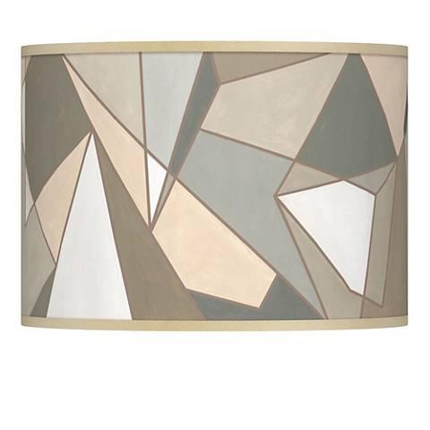 Modern Mosaic I Giclee Lamp Shade 13.5x13.5x10 (Spider)