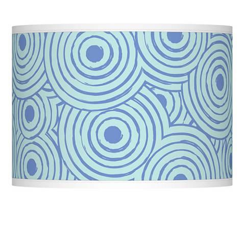 Circle Daze Giclee Lamp Shade 13.5x13.5x10 (Spider)