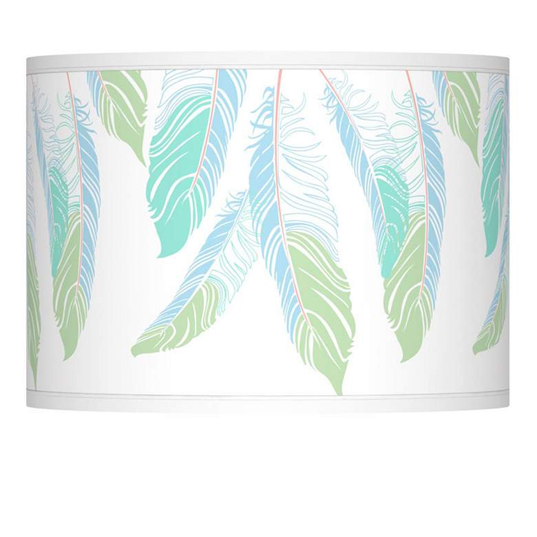 Light as a Feather Giclee Lamp Shade 13.5x13.5x10