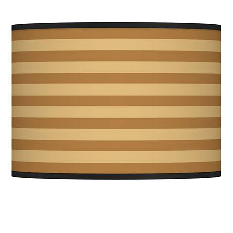 Butterscotch Parallels Giclee Glow Shade 13.5x13.5x10