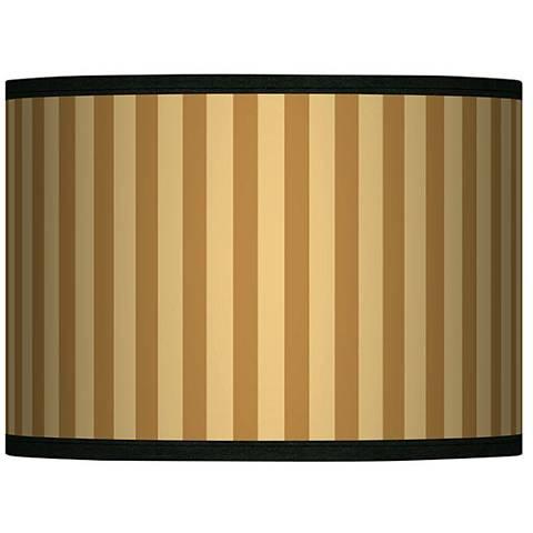 Butterscotch Vertical Giclee Lamp Shade 13.5x13.5x10 (Spider)
