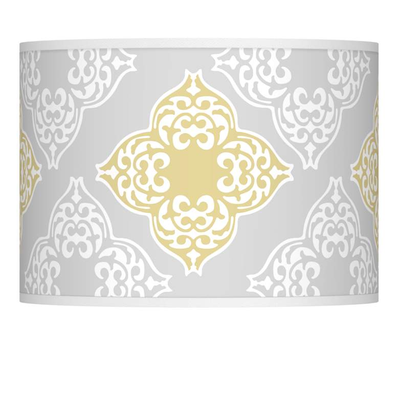 Aster Grey Giclee Glow Lamp Shade 13.5x13.5x10 (Spider)