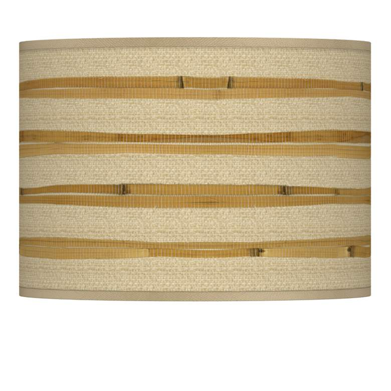 Bamboo Wrap Giclee Shade 13.5x13.5x10 (Spider)