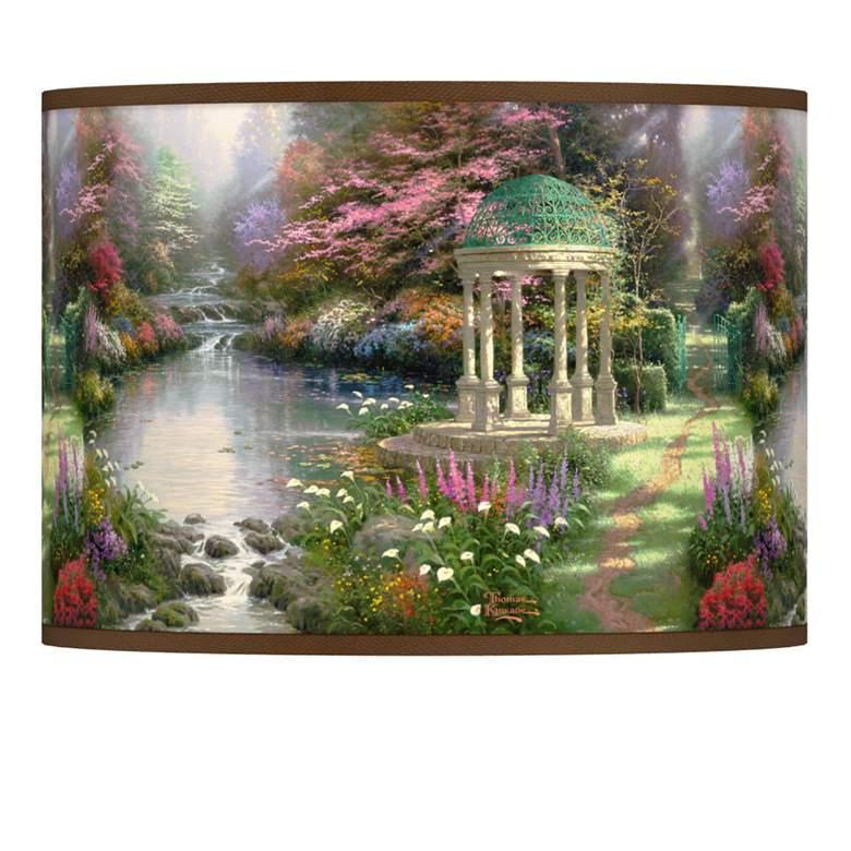 Thomas Kinkade The Garden of Prayer Shade 13.5x13.5x10