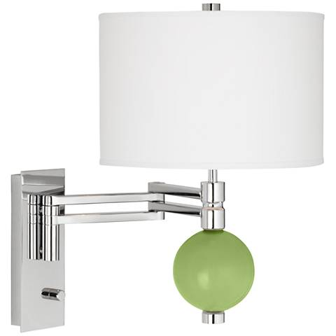 Lime Rickey Niko Swing Arm Wall Lamp