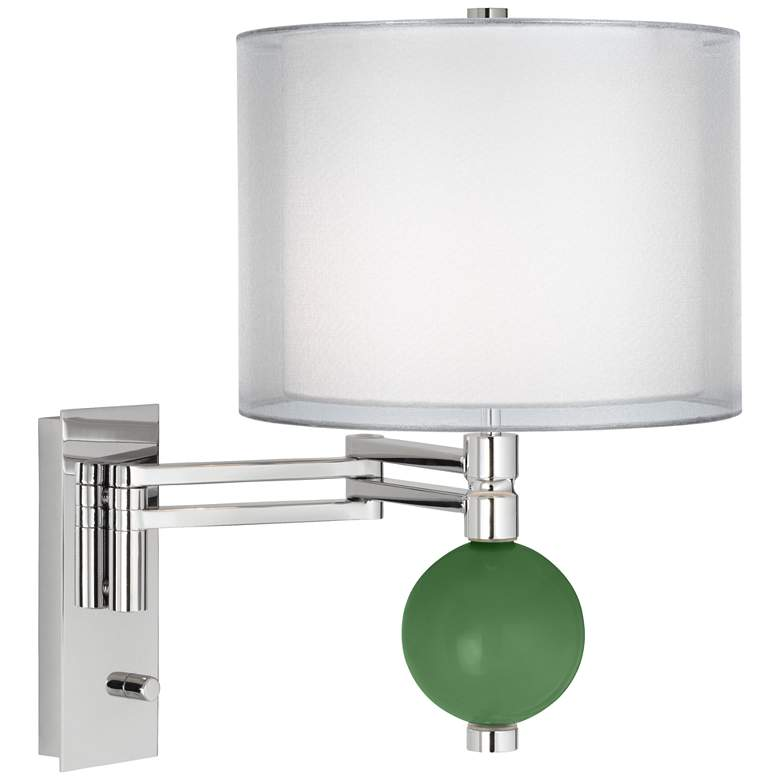 Garden Grove Sheer Double Shade Niko Swing Arm Wall Lamp 25j62 Lamps Plus