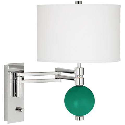 Leaf Niko Swing Arm Wall Lamp