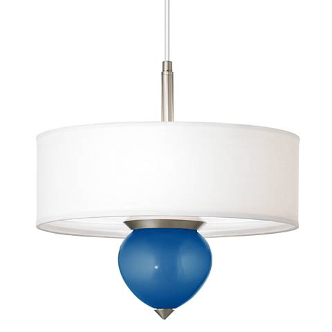 "Ocean Metallic Cleo 16"" Wide Pendant Chandelier"