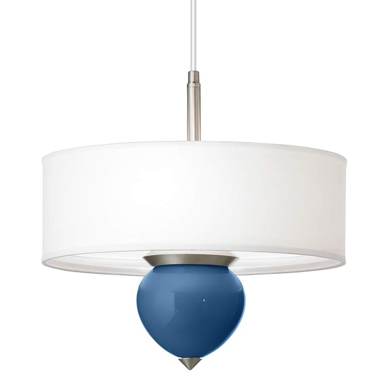 "Regatta Blue Cleo 16"" Wide Pendant Chandelier"