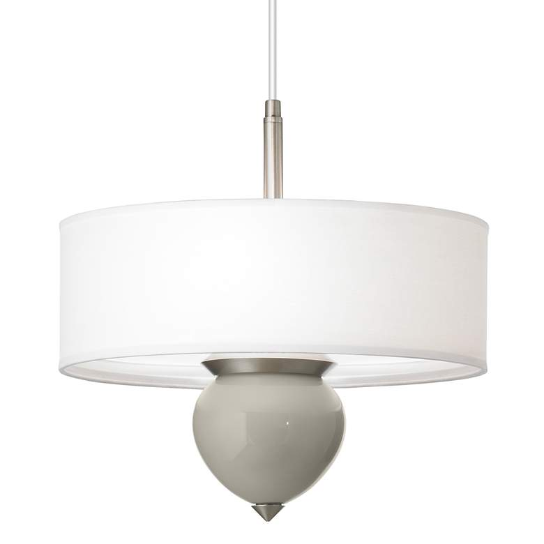 "Requisite Gray Cleo 16"" Wide Pendant Chandelier"