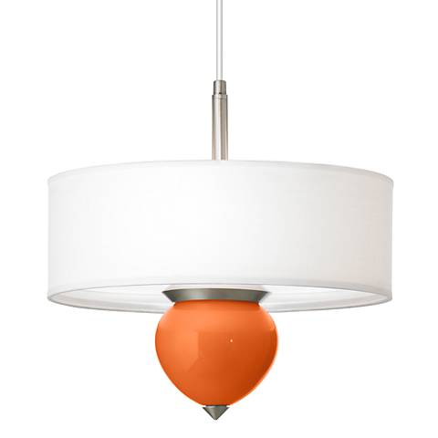 "Invigorate Cleo 16"" Wide Pendant Chandelier"