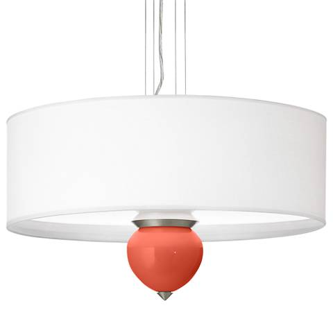 "Koi Cleo 24"" Wide Pendant Chandelier by Color Plus"
