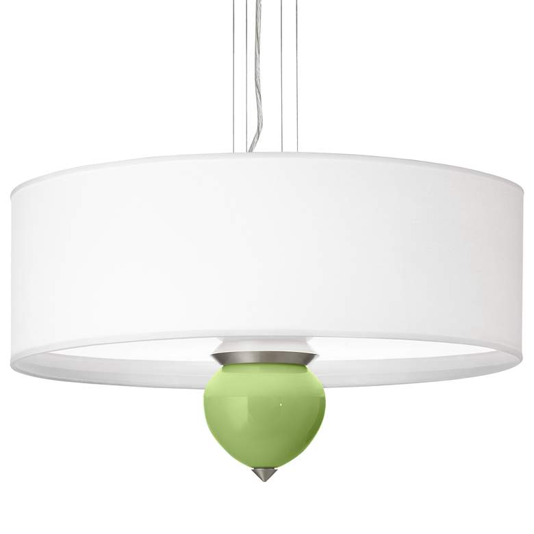 """Lime Rickey Cleo 24"""" Wide Pendant Chandelier"""