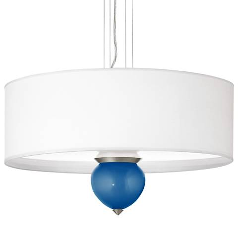 "Ocean Metallic Cleo 24"" Wide Pendant Chandelier"