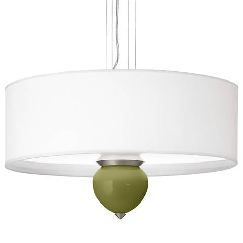 "Rural Green Cleo 24"" Wide Pendant Chandelier"