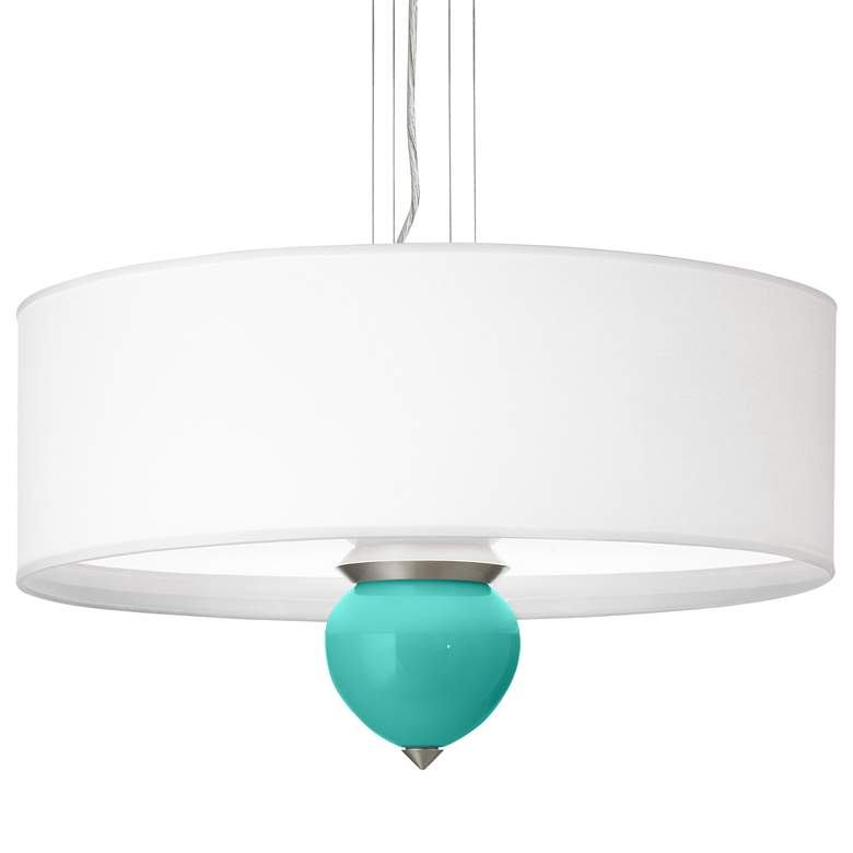 """Synergy Cleo 24"""" Wide Pendant Chandelier"""