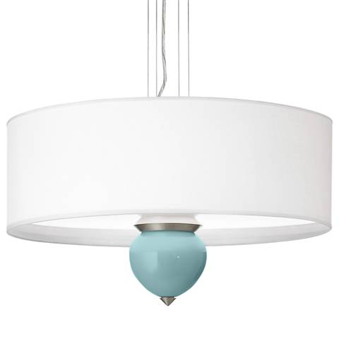 "Raindrop Cleo 24"" Wide Pendant Chandelier"