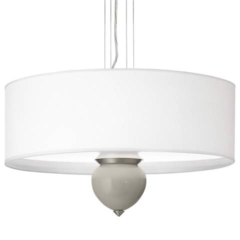 "Requisite Gray Cleo 24"" Wide Pendant Chandelier"
