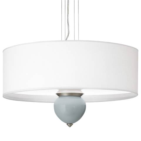 "Uncertain Gray Cleo 24"" Wide Pendant Chandelier"