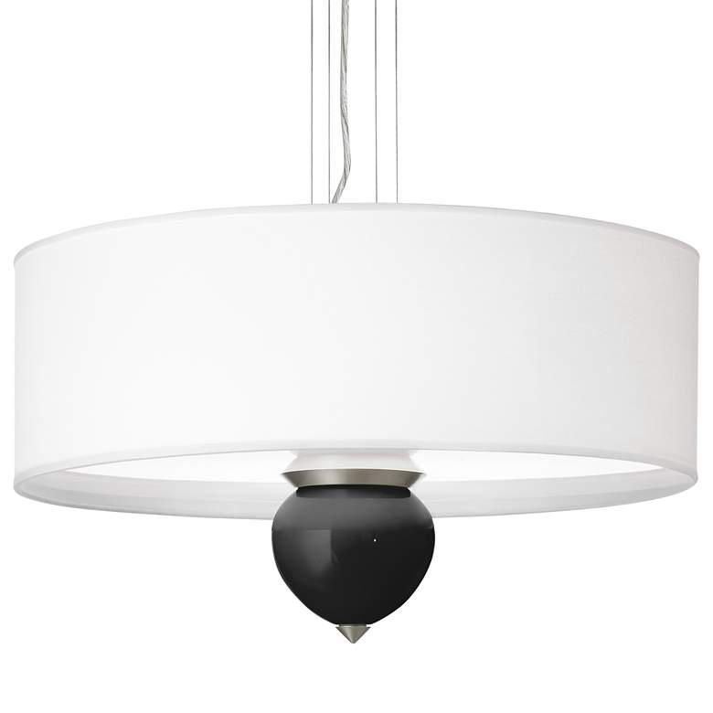 "Tricorn Black Cleo 24"" Wide Pendant Chandelier"