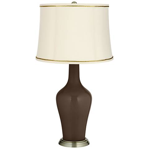 Carafe Anya Table Lamp with President's Braid Trim
