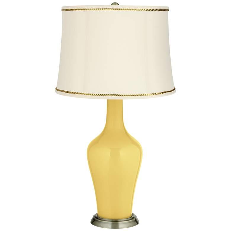 Daffodil Anya Table Lamp with President's Braid Trim