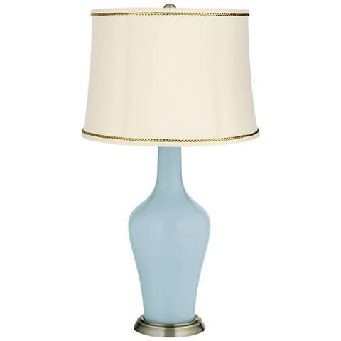 Vast Sky Anya Table Lamp with President's Braid Trim