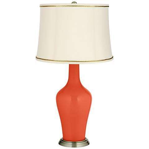 Daredevil Anya Table Lamp with President's Braid Trim