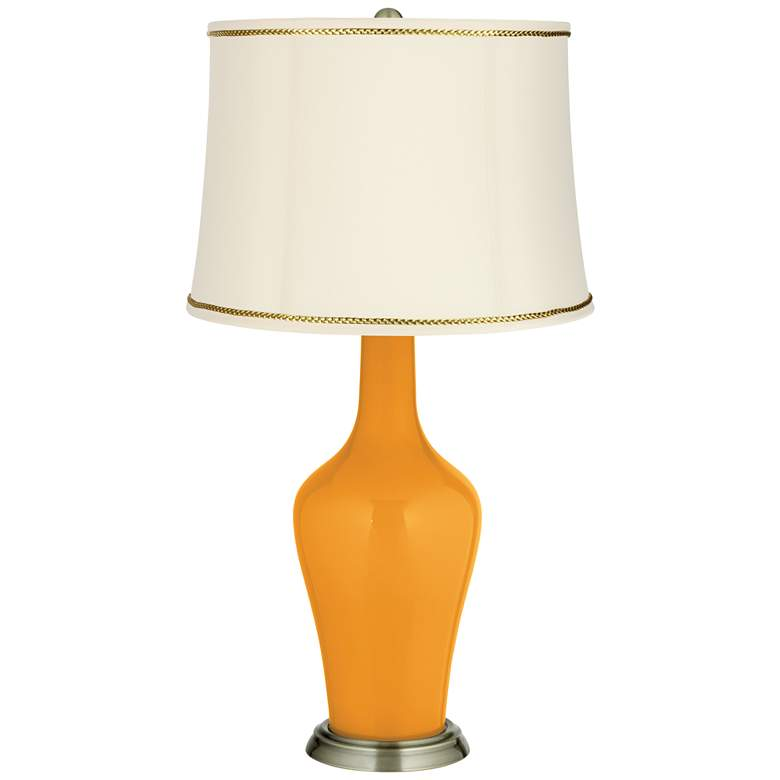Carnival Anya Table Lamp with President's Braid Trim