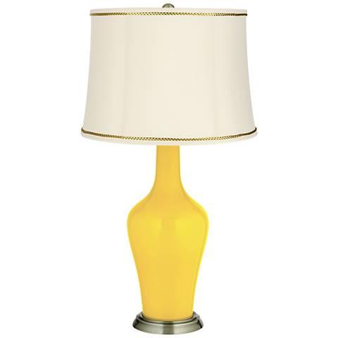 Citrus Anya Table Lamp with President's Braid Trim